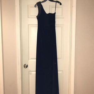 Laundry by Shelli Segal   Navy Evening Dress